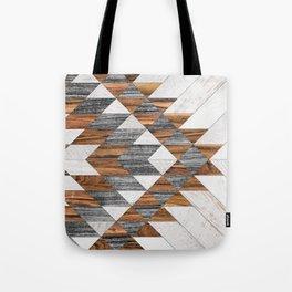 Urban Tribal Pattern 12 - Aztec - Wood Tote Bag