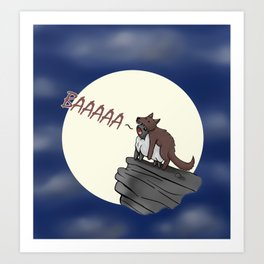 Sheep In Wolves' Clothing Art Print