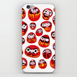 Japanese Daruma Characters iPhone Skin
