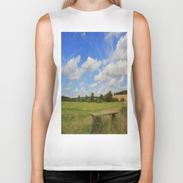 Sit and Enjoy The Countryside Biker Tank