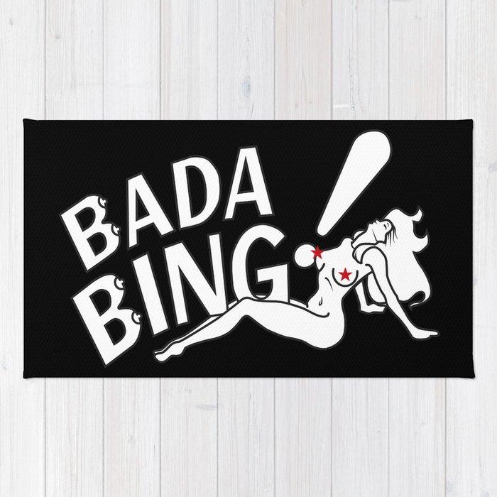 Bada Bing neon bada bing! rugaguvagu | society6