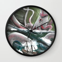 Ravaged by Time Wall Clock