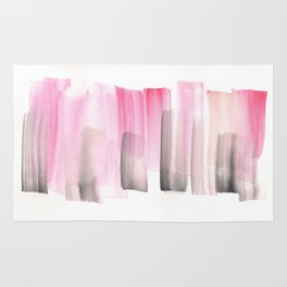 [161228] 25. Abstract Watercolour Color Study Rug