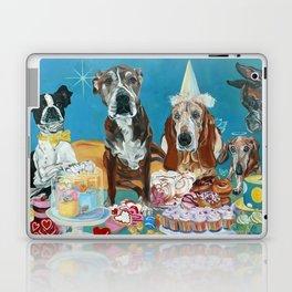 The Last Dessert Dog Portrait Laptop & iPad Skin