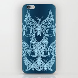 Indian Butterfly Enblem iPhone Skin
