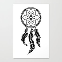 Dreamcatcher, dream catcher, circle of life, protection Canvas Print