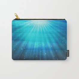 Fantasy Water Turquoise Blue Carry-All Pouch