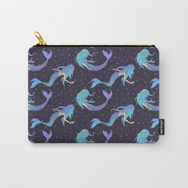 Magical Sirens Pattern Carry-All Pouch