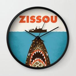 Zissou The Life Aquatic Wall Clock
