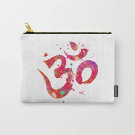 Colorful Om Symbol Carry-All Pouch