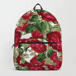 Crimson Rose Bower Backpack