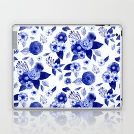Flowers Print Laptop & iPad Skin