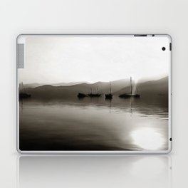 Gulets In Greyscale Laptop & iPad Skin