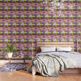 Water Lilies monet 1917 enhanced Wallpaper