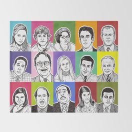 The Office Throw Blanket