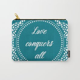 Love conquers all Carry-All Pouch