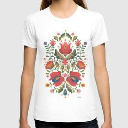 Folk Embroidery T-shirt