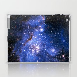 Blue Embrionic Stars Laptop & iPad Skin