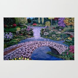 My Garden - by Ave Hurley Rug