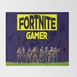 gamer design for online gamers Throw Blanket