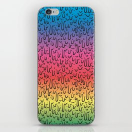 Rainbow Goo iPhone Skin