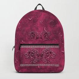 African elephant with ethnic motives V6 V Backpack Backpack