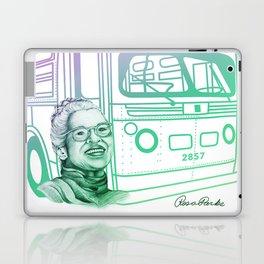 Rosa Parks, Courageous Woman Laptop & iPad Skin
