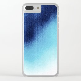 BLUR / frost Clear iPhone Case