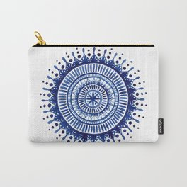 Mandala Watercolor Painting Carry-All Pouch