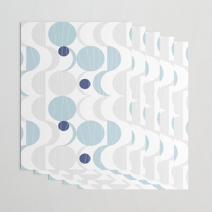 Blue Moon #society6 #decor Wrapping Paper
