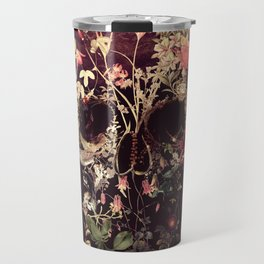Bloom Skull Travel Mug