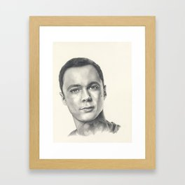 Sheldon Framed Art Print