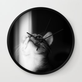 Looking Into The Light Wall Clock