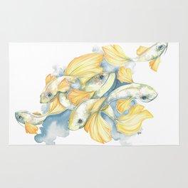 Ginko Fish Rug