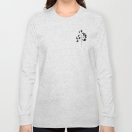 Watercolor Leaves Long Sleeve T-shirt