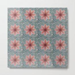 Tile Pattern Mexico I Metal Print