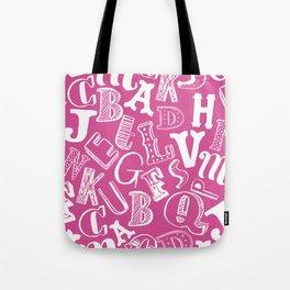 A-Z Tote Bag