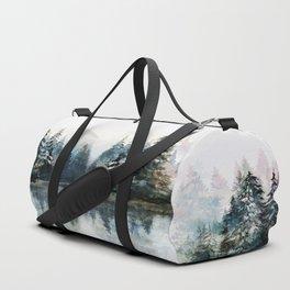 Winter Morning Duffle Bag