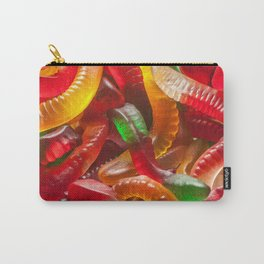 Gummy Worms Carry-All Pouch