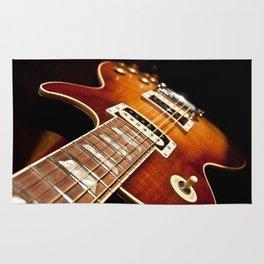 Sunburst Electric Guitar Rug