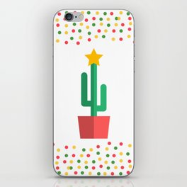 Christmas Cactus iPhone Skin