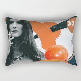 Consumable Goods (Orange) Rectangular Pillow