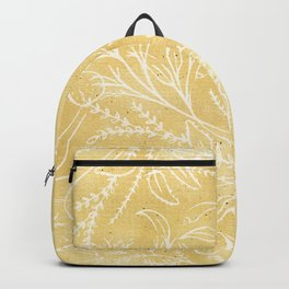 Add Spice to your Life: herb toss ochre Backpack