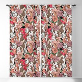 Because English Bulldog Blackout Curtain