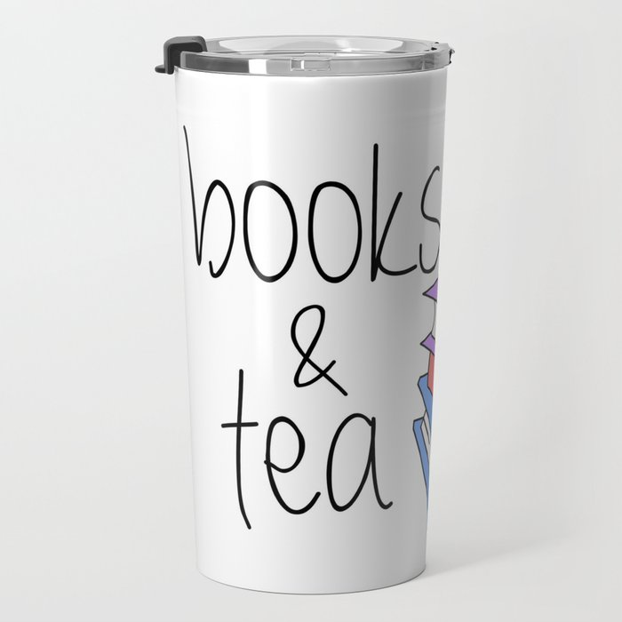 Books and Tea Bookworm Travel Mug