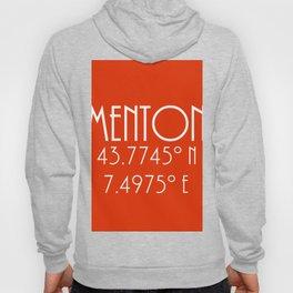 Menton Latitude Longitude Hoody