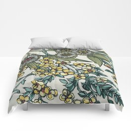 Australian Native Floral Comforters