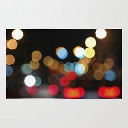 City Light Bokeh Rug