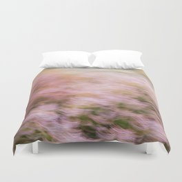 Abstract Heather Duvet Cover