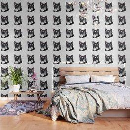 Geometric Cat Wallpaper